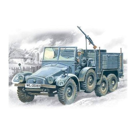 Krupp L2H143 Kfz.70, German Light Army Truck