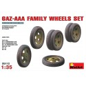 GAZ-AAA family wheels set